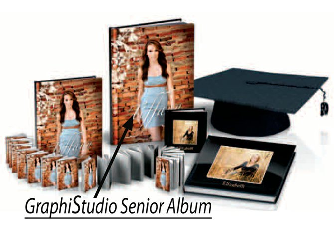 X.) Studio-Book-1-8x12 or 2-6x8 or 4-4x5: